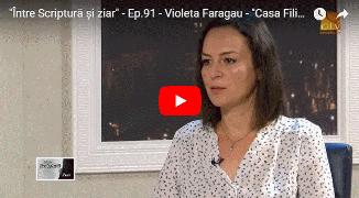 """Credo TV: Marius Cruceru în dialog cu Violeta Fărăgău 🔴 """"Casa Filip"""", o poveste de dragoste"""
