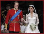 William & Kate - wedding posts