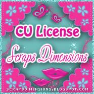 Cu License- Scraps Dimensions