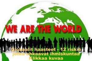 Globaalit haasteet - 12 riskiä