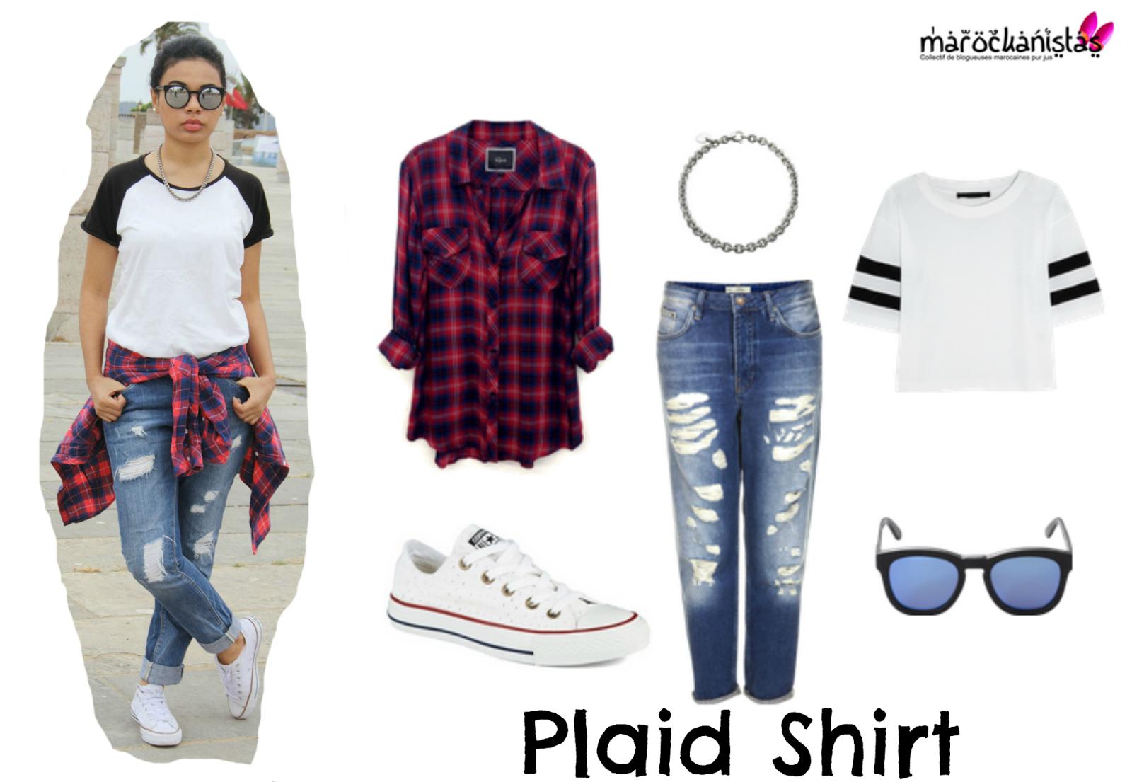 How we style white t shirt skinnyjeaans - Pimkie boyfriend jeans ...