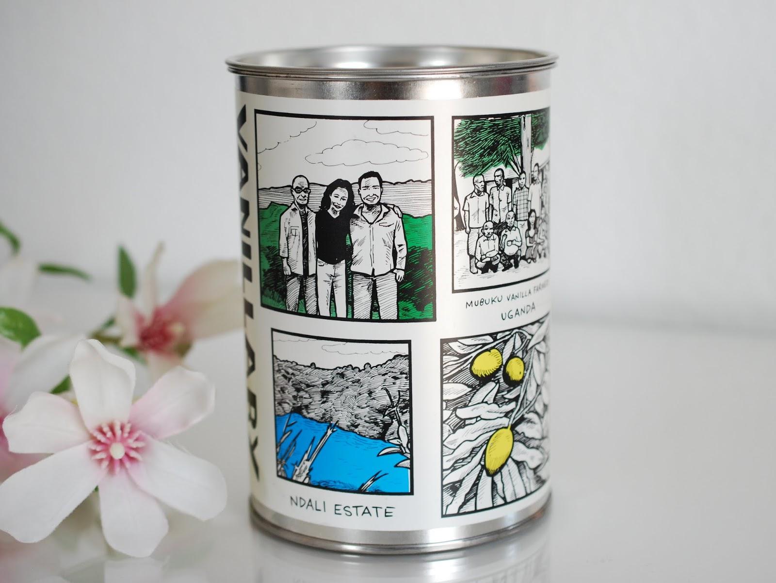 Aussehen Box Lush Vanillary Geschenk