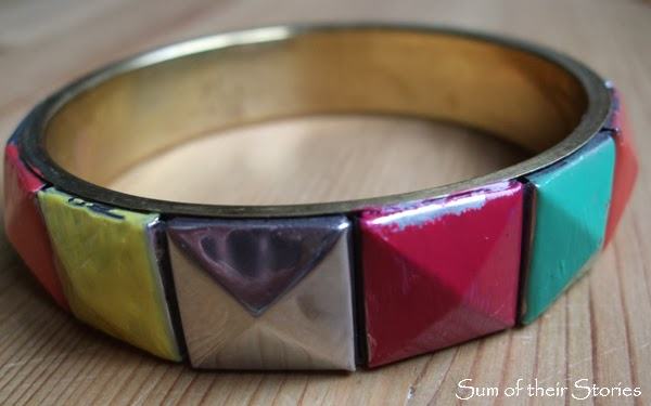 Geometric Bangle Refashion  - Pin Fail