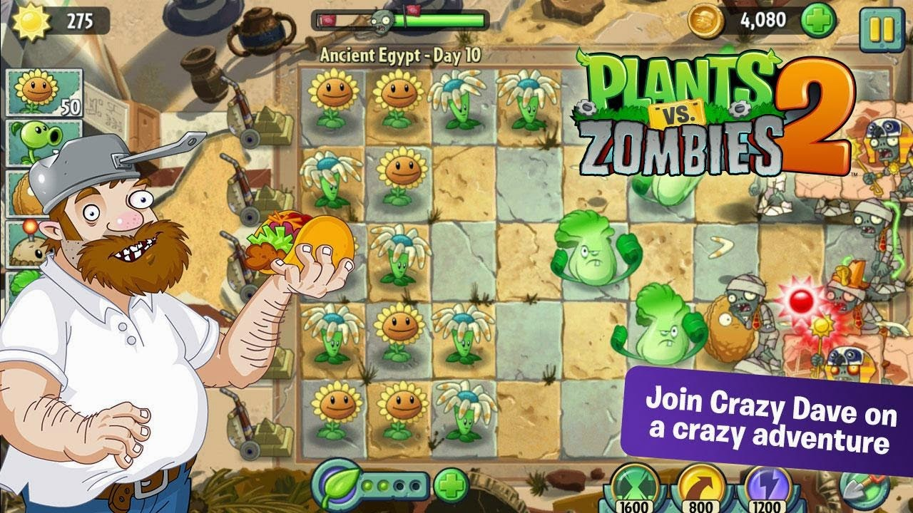 Download Apk Plants VS Zombies 2 Games for Android