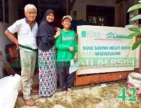 Bank Sampah Melati Bersih Wijayakusuma Sawah Ciputat Tangerang Selatan