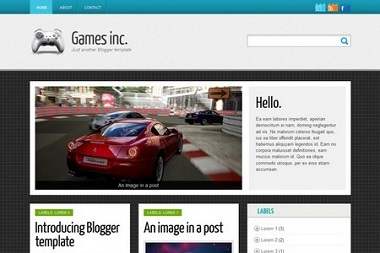 Games Inc. Blogger Template