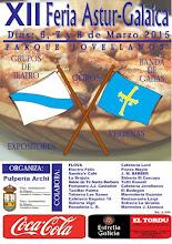 XI Feria Astur-Galaica. Del 6 al 8 de marzo.