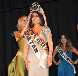 Miss Tourism Queen Mexico 2012 winner Laura Alvarez Damian