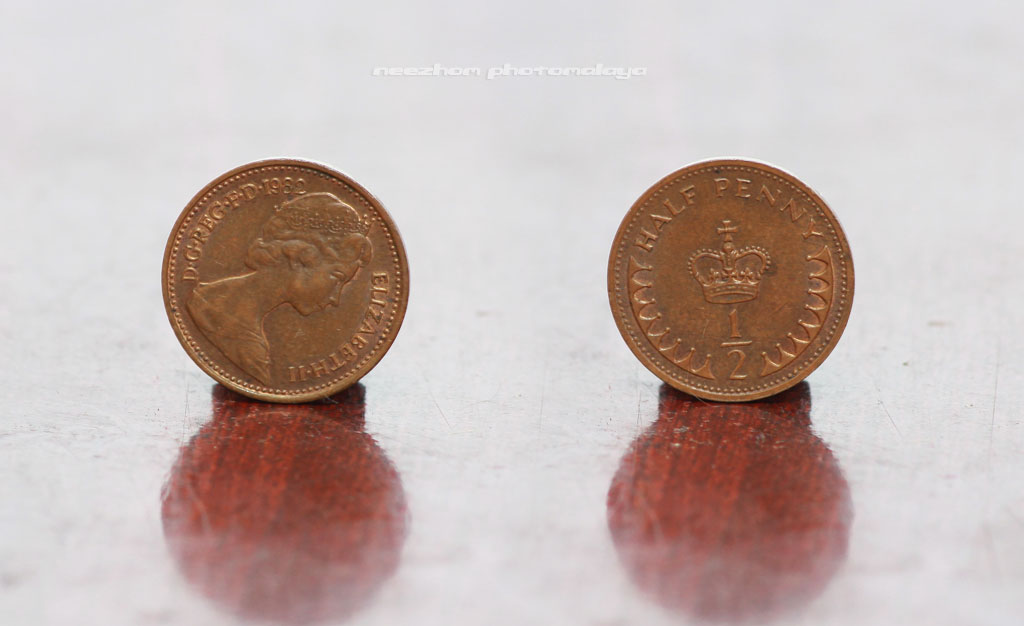 Duit syling Great Britain 1/2 Penny 1982