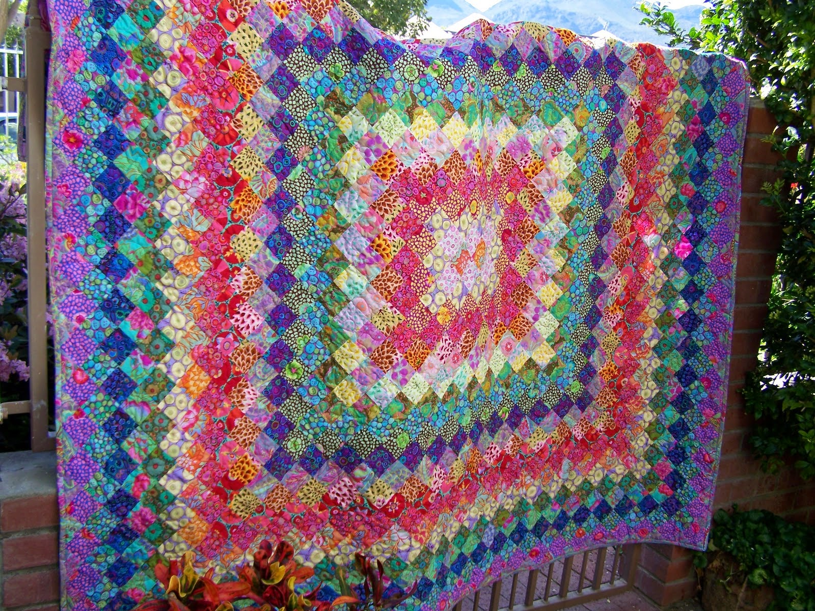 Spring Boston Common Quilt