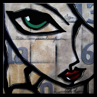 Rostros Modernos Expresiones Arte