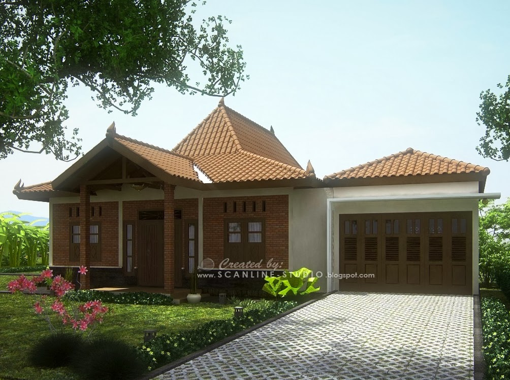 info  Desain Rumah Joglo Bergaya Modern di Jawa Tengah