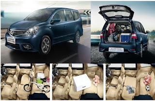 Nissan Grand Livina adalah salah satu tipe mobil terbaik pilihan keluarga Indonesia, memiliki kabin yang lapang.