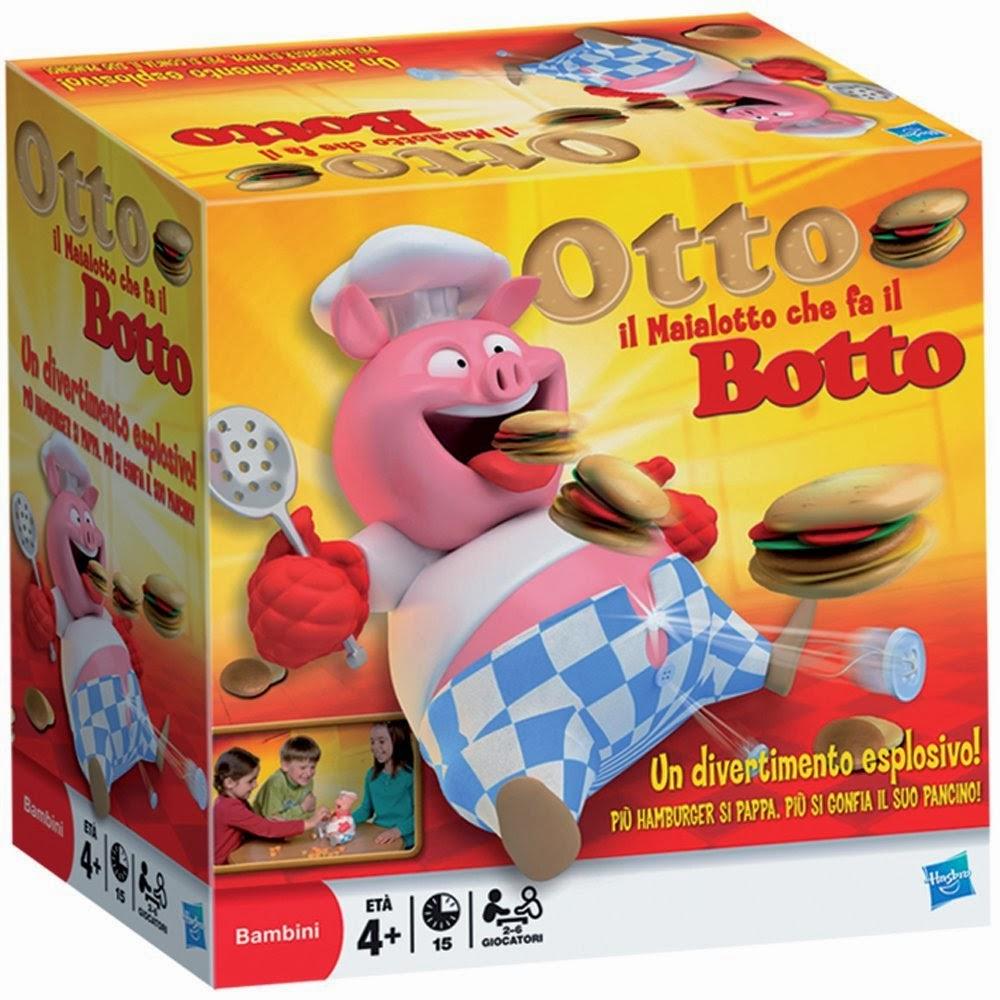 Otto il Maialotto Che Fa il Botto cuoco gioco di societa Hasbro Natale 2013