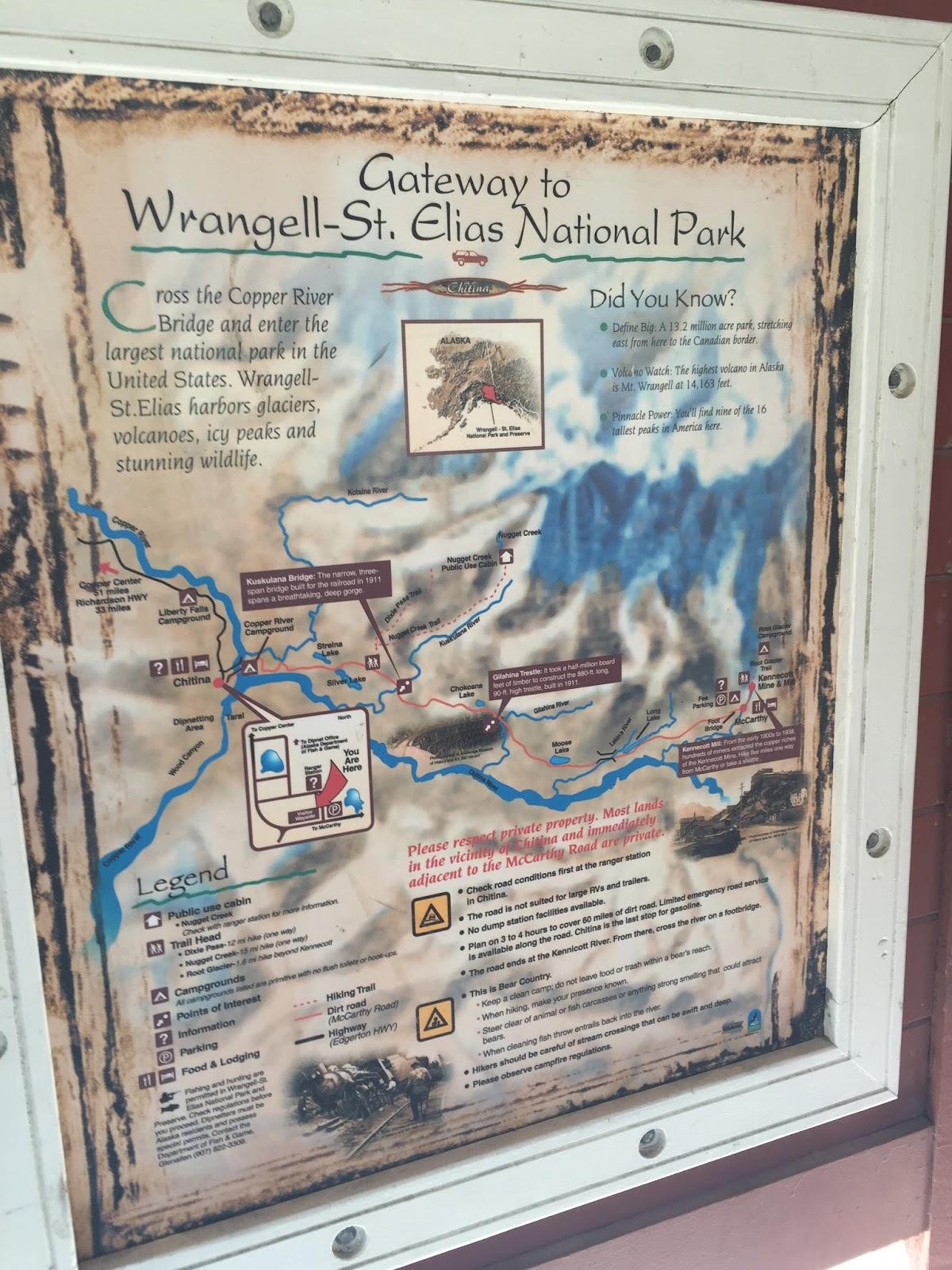 McCarthyKennicott Part I Wrangell St Elias National Park and