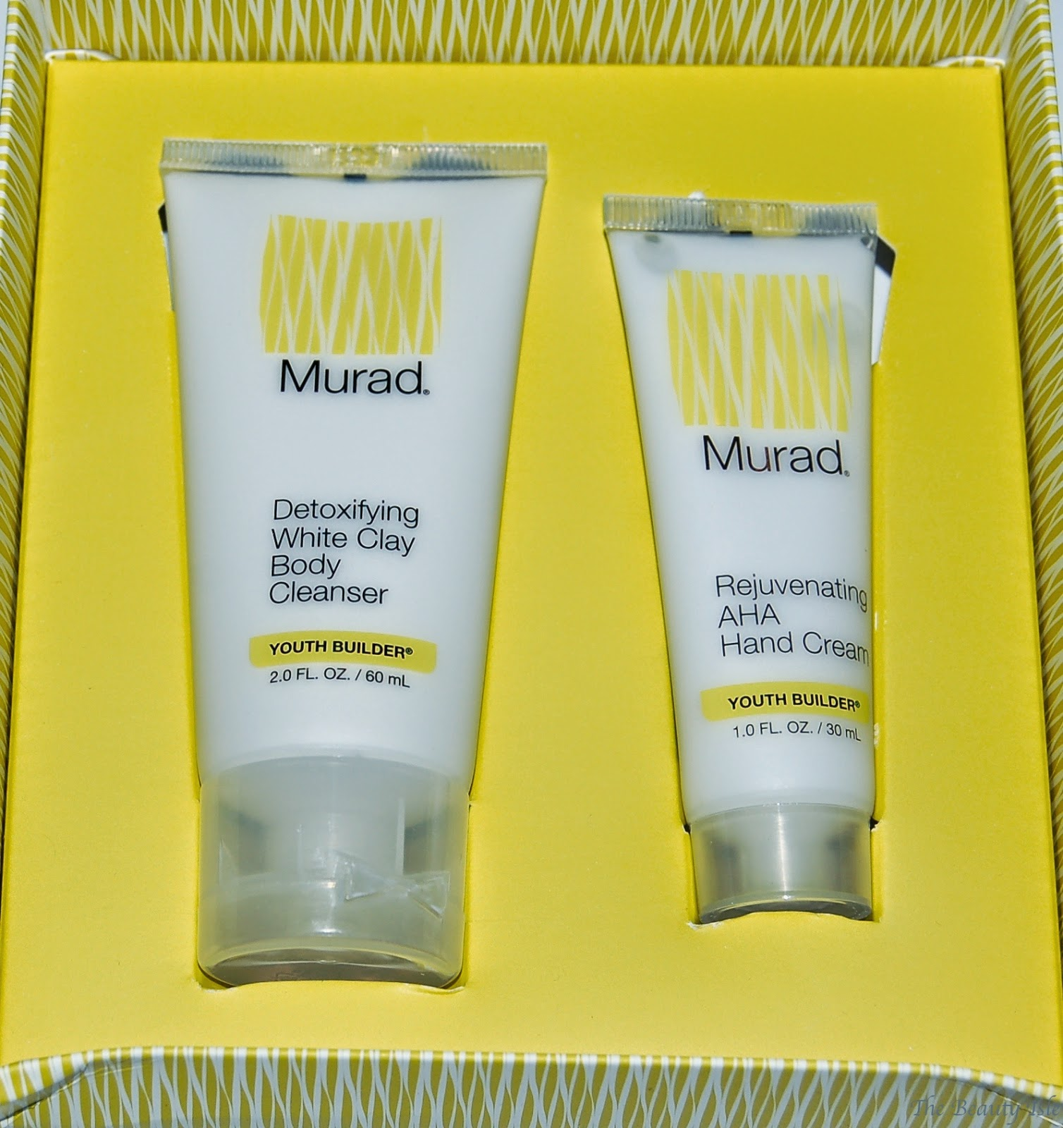 Murad High Performance Youth Builder Bodycare Preview Kit