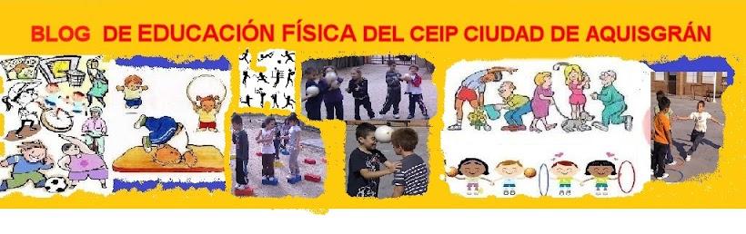 BLOG DE EDUCACIÓN FÍSICA EN CEIP CIUDAD DE AQUISGRÁN (TOLEDO)
