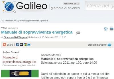 Galileo 16 febbraio 2011