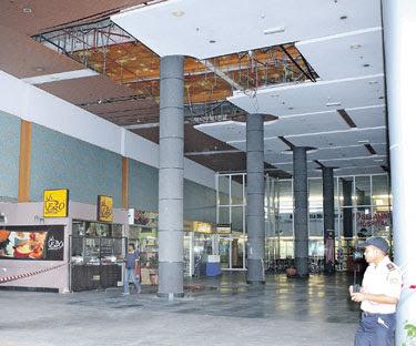 kenapa siling jatuh di Hospital Serdang, kecederaan mangsa, bagaiman siling jatuh hospital serdang