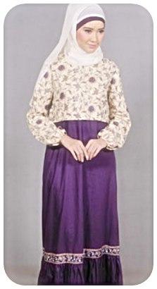 model+baju+batik+muslim+(3) Model Baju Batik Muslim Trend Terbaru