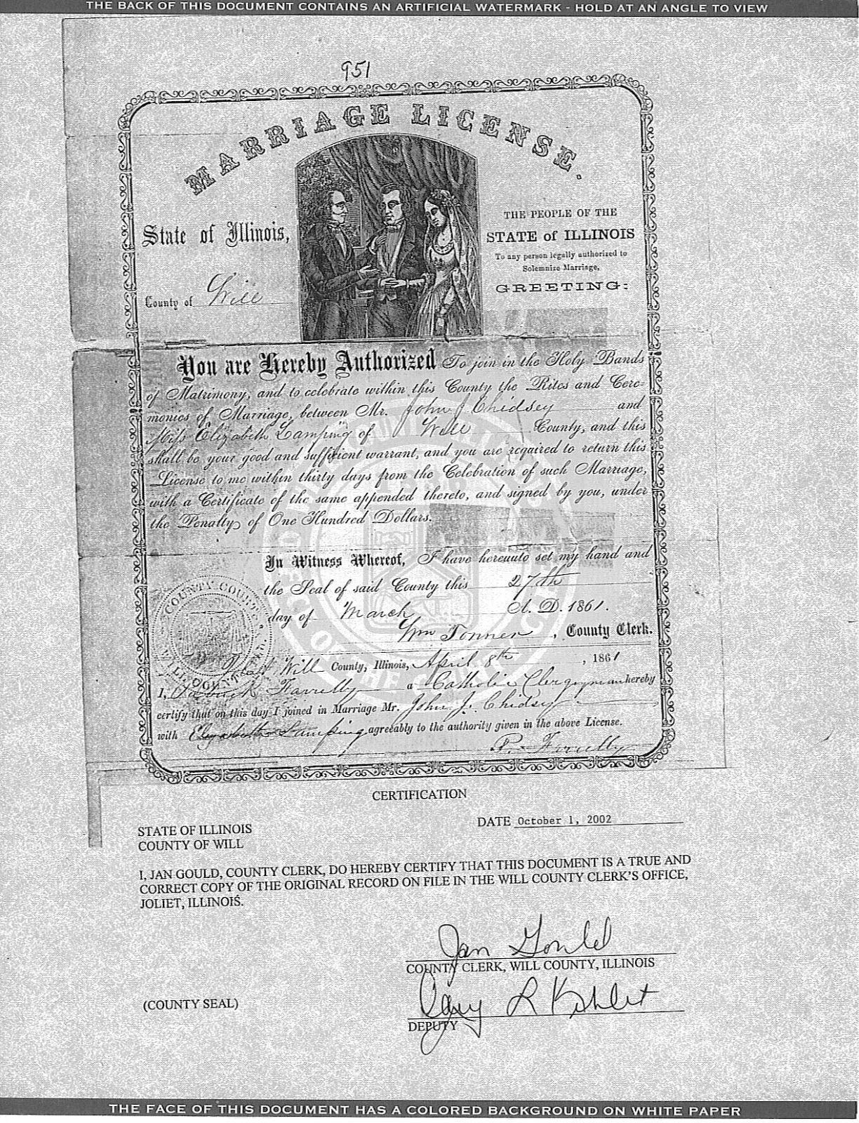 Joliet genealogy march 2013 this includes parental information birth information age and number of marriages although that does not mean they were always answered 1betcityfo Gallery