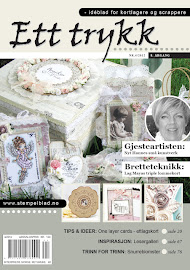 Gjestedesigner i Ett Trykk august 2012