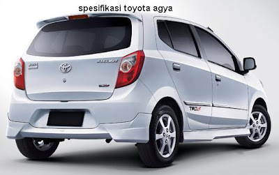 spesifikasi toyota agya