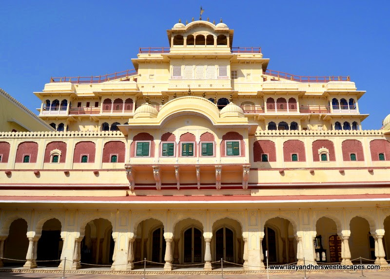 Chandra Mahal in City Palace Jaipur