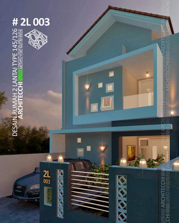 Desain Rumah Type 145