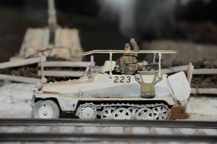 Sd Kfz 250 funkwagen