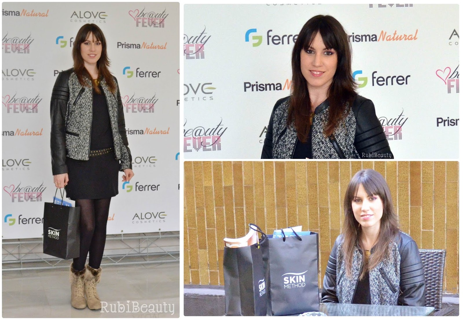 rubibeauty review beautyfever 2015 productos haul muestras outfit