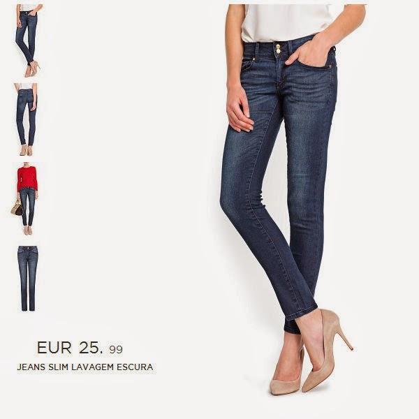 jeans a preços acessíveis da mango