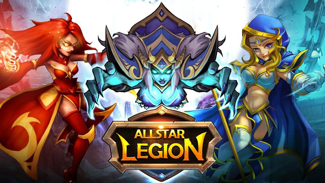 Allstar Legion Gameplay IOS / Android