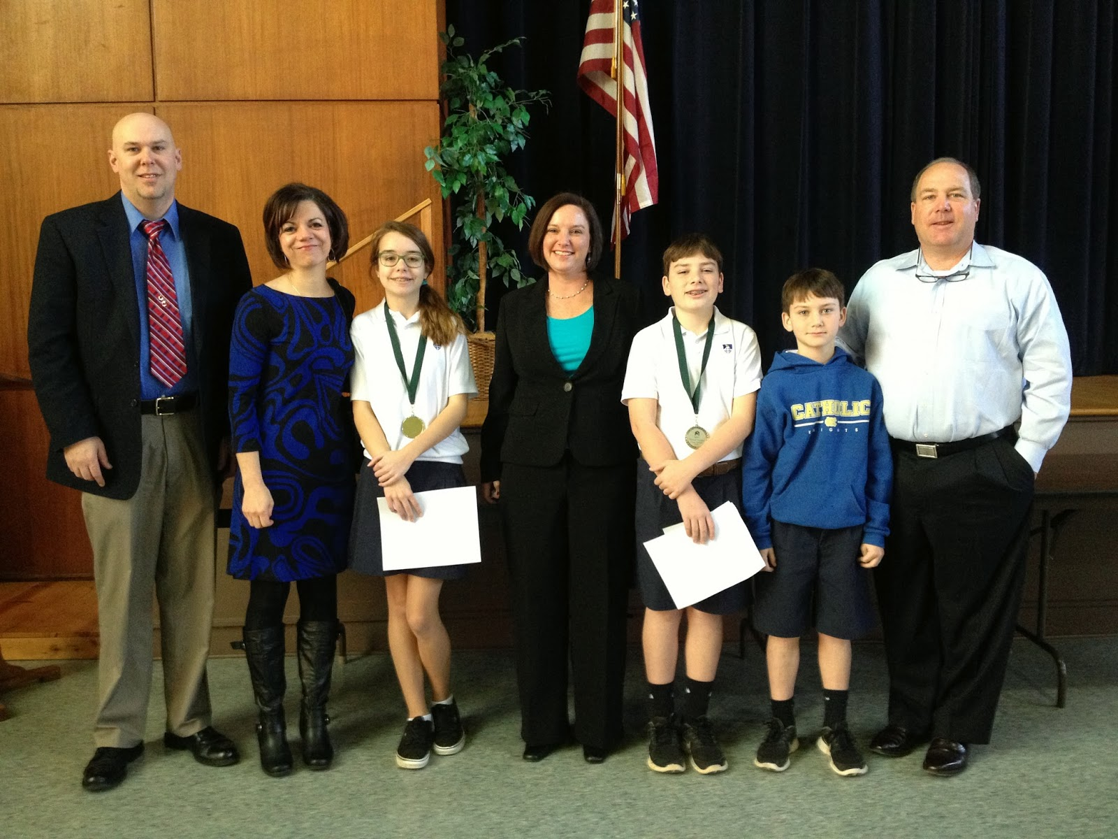 Two MCPS Sixth Grade Students Win Humane Society Essay Contest 2