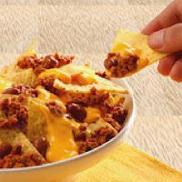 Receta de nachos con chili