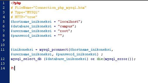 lengkap tutorial php membuat database koneksi input data
