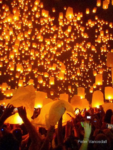 Thai lantern festival
