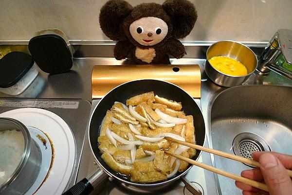 きつね丼の作り方(2)