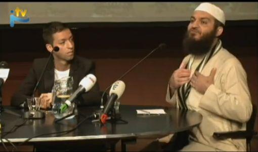 Haitham al-Haddad přednáší/zdroj internet