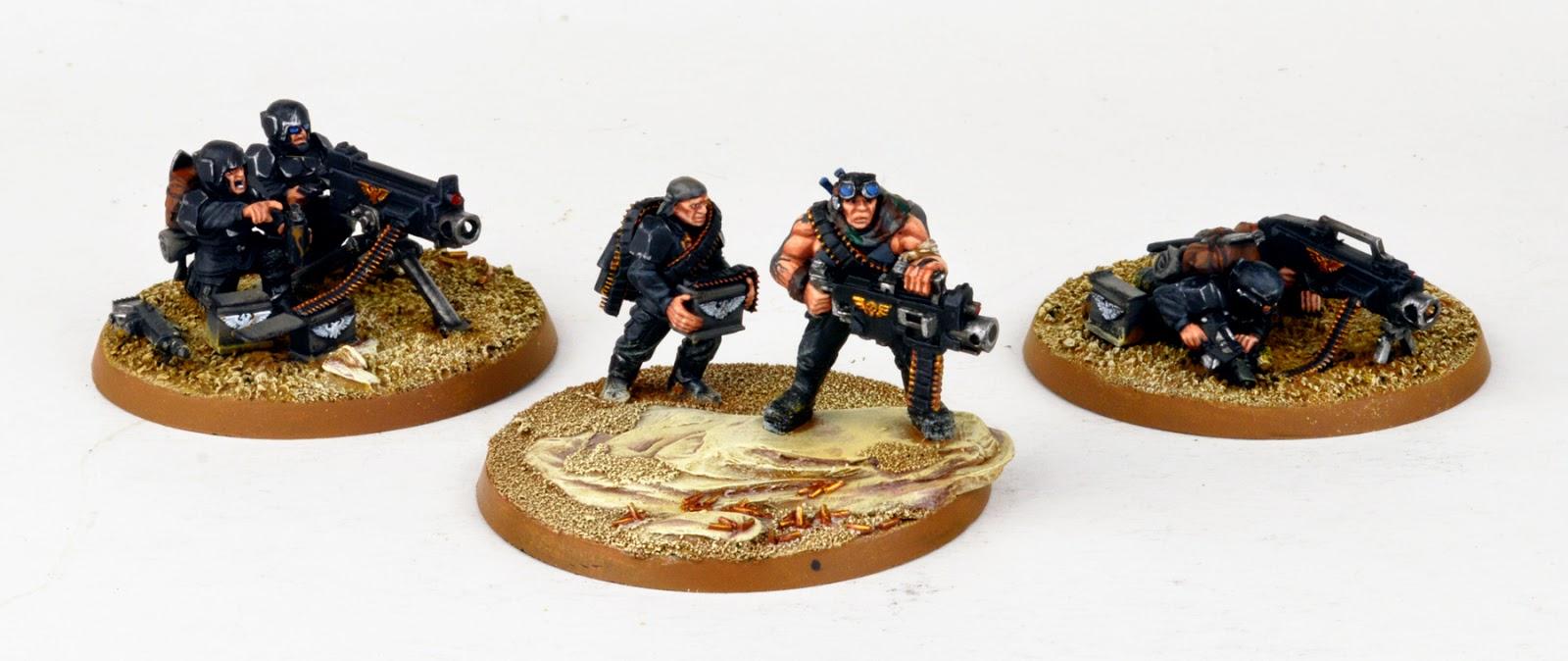 Tanith - Gol Kolea's Platoon, Part One
