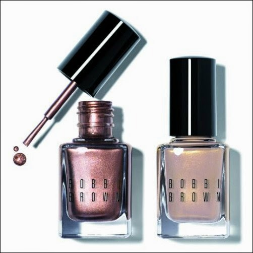 NEW: Bobbi Brown Raw Sugar Collection, Shimmer Nail Polish in Golden Beige and Raw Sugar