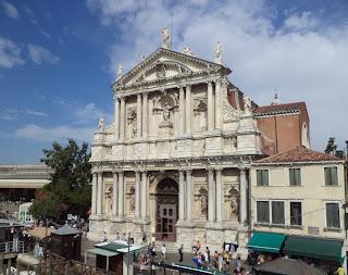Iglesia de San Stae - Venecia. Iglesias de Venecia. Iglesias de Italia