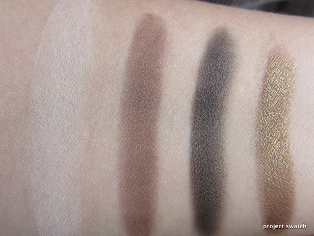 Illamasqua Neutral Palette swatches