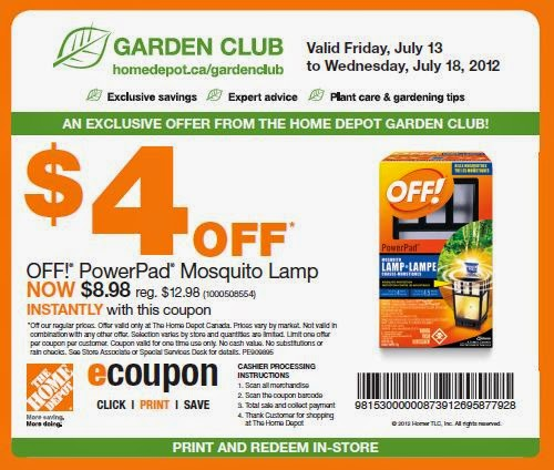 Home depot coupon code