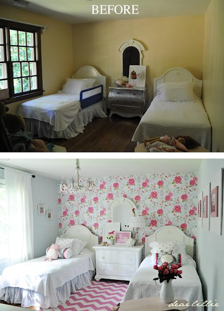 Dear Lillie: Lillie and Lola's New Room (Not Quite Finished But ...