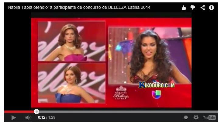 Nabila Tapia Mis Belleza Latina 2014