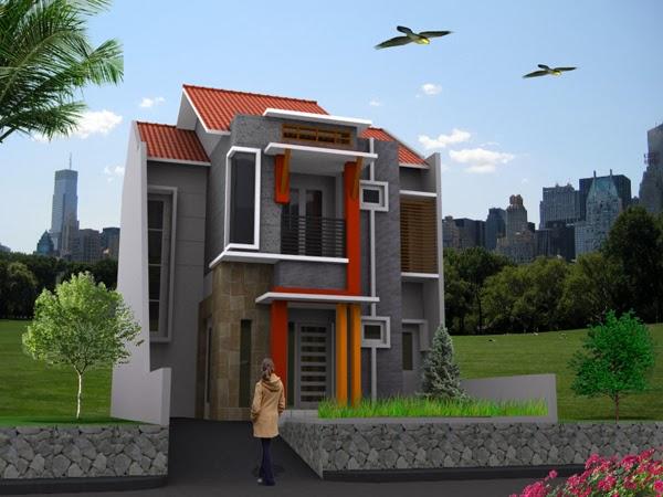 rumah model minimalis terkini indah