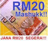 DUIT RAYA : RM20