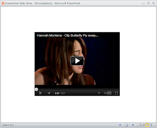 Embed YouTube Video Into PowerPoint 2010 - 5