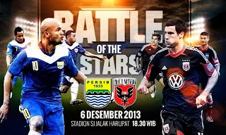 Jadwal (Siaran TV) Persib vs DC United 6 Desember 2013